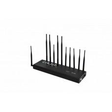 Блокиратор сотовой связи и сигналов 3G, 4G, 5G, Bluetooth, Wi-Fi