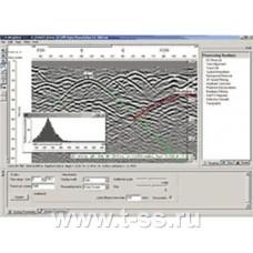 """Программа обработки георадиолокационных и сейсмических данных """"Radexplorer"""""""