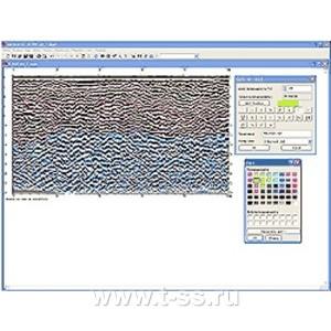 Geoscan32, программное обеспечение для записи, обработки и интерпретации данных георадара