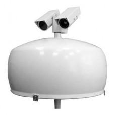 Локационно-оптическая система обнаружения дронов