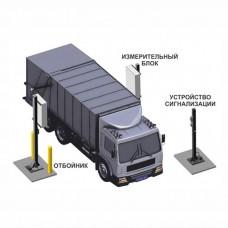 Транспортный радиационный монитор на базе СРК-АТ2327 с 2-мя блоками детектирования БДКГ-19 и 2-мя БДКН-05