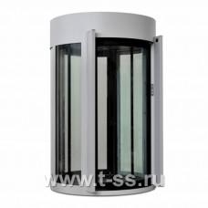 Шлюзовая кабина Блокпост КБЦ-900 (RAL 7038) (стекло 22 мм)