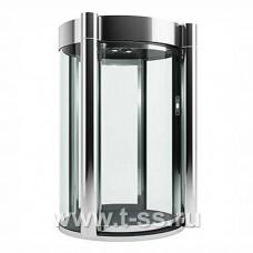Шлюзовая кабина Блокпост КБЦ-900 (нерж. сталь) (стекло 27 мм)