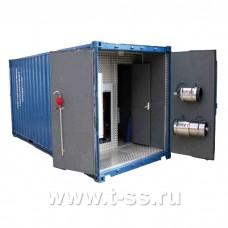 """Автономный пожарный модуль контейнерного типа  (АПМКТ)  с УКТП """"Пурга"""""""