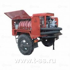 Мотопомпа пожарная Гейзер МП-20/100 П на прицепе ЗИЛ