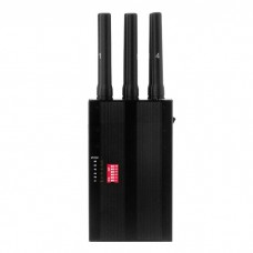 MONSTER портативный подавитель 10 частот GSM, WIFI, GPS, 3G