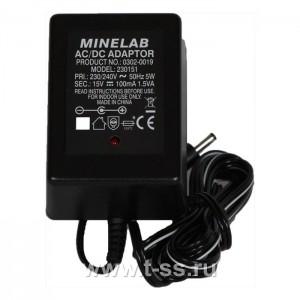 Minelab Charger NiMH 230V (Euro)