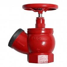Клапан ПК-65 муфта/цапка чугун угловой 125