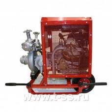 Мотопомпа пожарная «Гейзер» МП 10/60 Д переносная (с дизельным приводом)