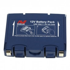 Minelab Alkaline Battery Pack (Blue)