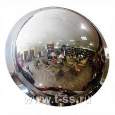 Зеркало обзорное для помещений купольное Ø800 мм