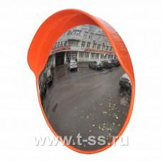 Дорожное зеркало с защитным козырьком Ø800 мм