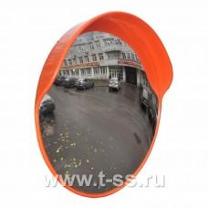 Дорожное зеркало с защитным козырьком Ø1000 мм