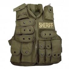 Жилет тактический Voodoo Tactical Sheriff Vest Olive