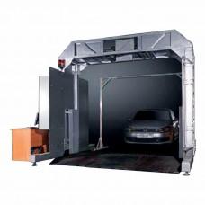 Досмотровый радиометрический комплекс для контроля легковых автомобилей и грузов