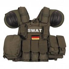 Жилет SWAT боевой быстросъемный олива