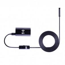 Эндоскоп для телефона Wifi, 8мм, 1м