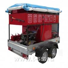 Мобильный комплекс пожаротушения и проведения аварийно-спасательных работ «Форпост-04»