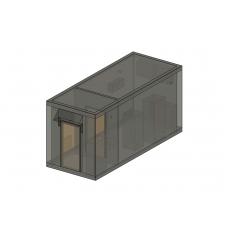 Аппаратное помещение контейнерного типа (АПКТ) АВМУ.425712.002-01.02
