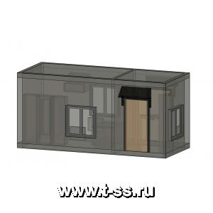 Аппаратное помещение контейнерного типа (АПКТ) АВМУ.425712.002-01.03