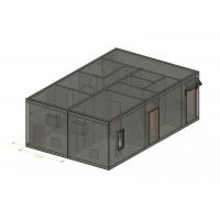 Аппаратное помещение контейнерного типа (АПКТ) АВМУ.425712.002-02.02