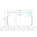 Аппаратное помещение контейнерного типа (АПКТ) АВМУ.425712.002-05