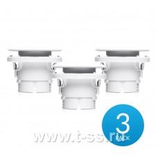 Ubiquiti UniFi Video Camera G3 FLEX Ceiling Mount (3-pack)